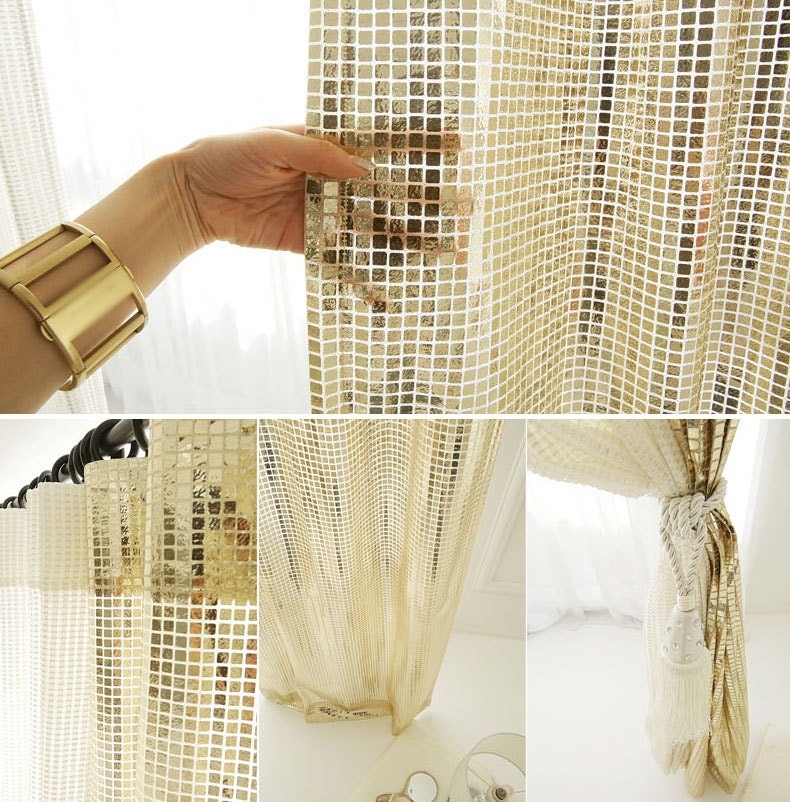 foil curtain door tinsel curtains metallic detail gold wedding fringe oem product party photo hanging backdrop