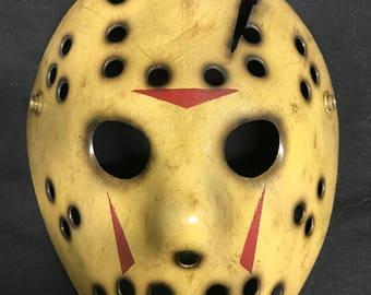 8- Jason Voorhees Replica Mask Jason Part 8 Jason Takes Manhattan  Friday the 13th