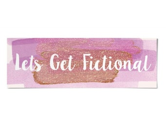 Lets get fictional - bookmark