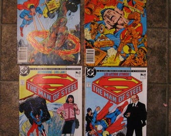 Four DC Superman Comic Books - 1978 and 1986