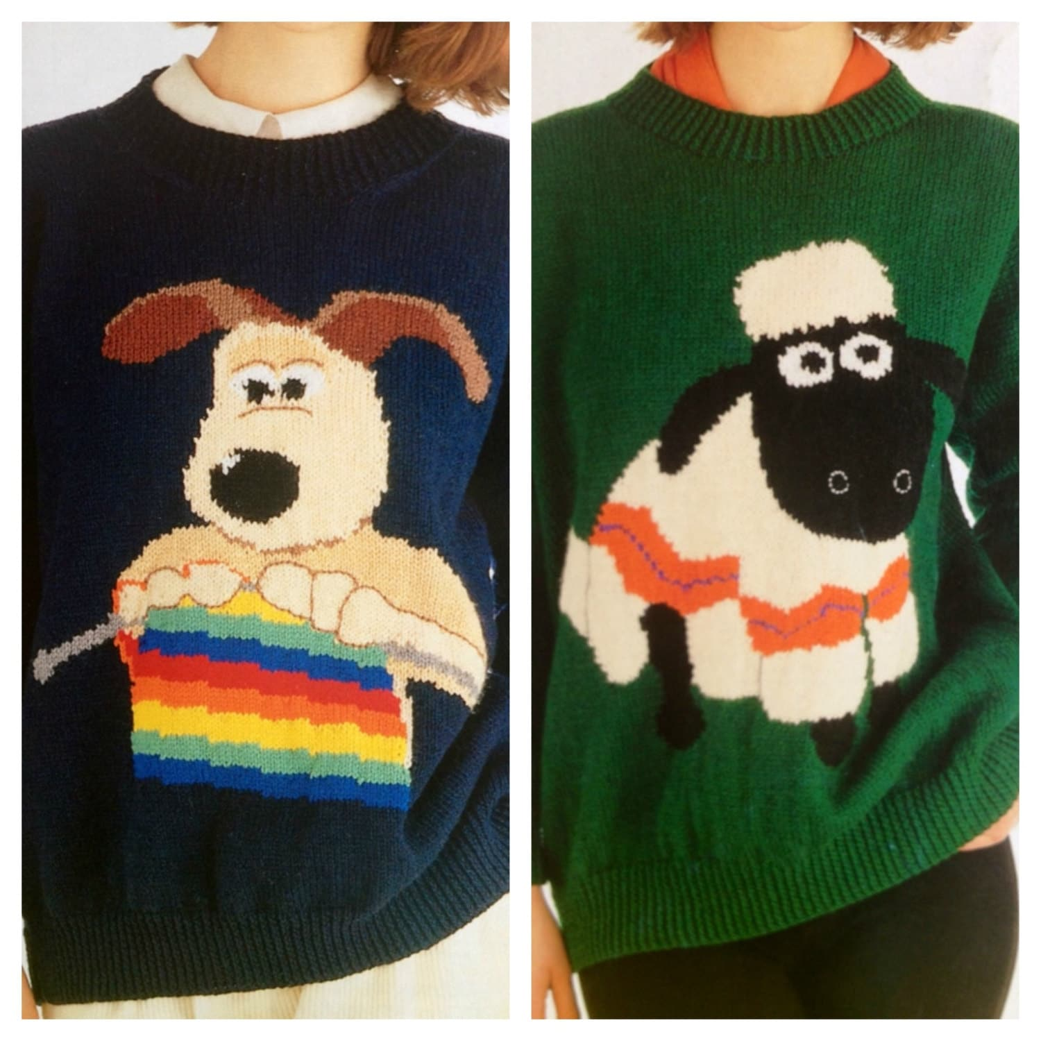 Wallace and gromit and shaun the sheep knitting patterns wallace and gromit and shaun the sheep knitting patterns sweaters jumpers for adults men and women knitting theme bankloansurffo Gallery