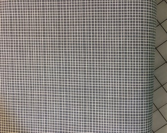 HALF YARD of Windham Fabrics - by Alyson Beaton - Neighborhood - Plaid in Gray #41287-4