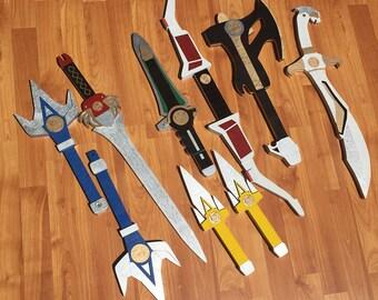 Full Power Ranger Cosplay Replica Set