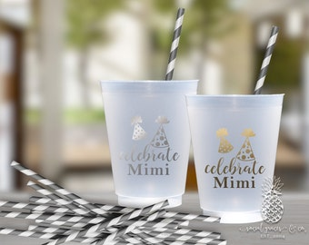 Birthday Party | Customizable Party Hat Cups | social graces Co.