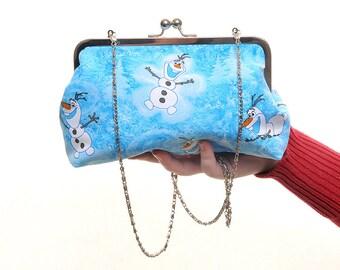 Disney Frozen Olaf Day Handbag and Clutch In One