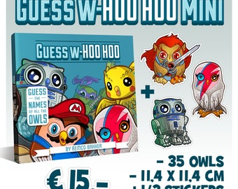 Guess W-hoo hoo book Mini