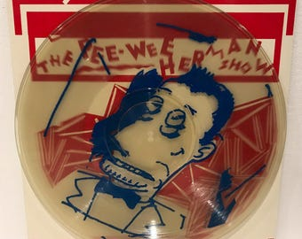 The Pee Wee Herman Show Picture Disc 1981 Vinyl Record