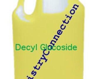 Decyl Glucoside Natural Surfactant 1 Gallon