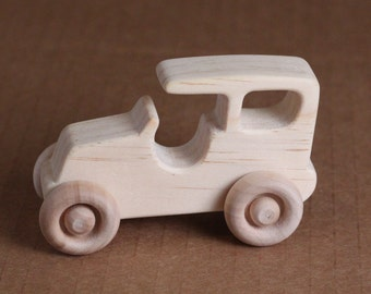 Handcrafted Mini wooden Model T 207