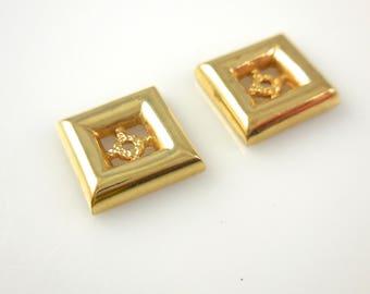 Ear Jackets 14k Yellow Gold Enhancers