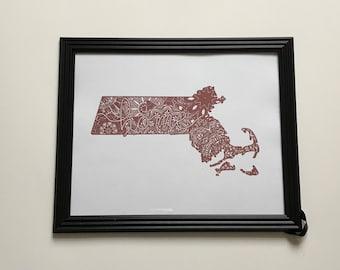 Massachusetts Foil
