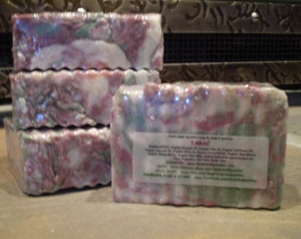 Tabac - Rustic Suds Natural - Organic Goat Milk Triple Butter Soap Bar - 5-6oz. Each