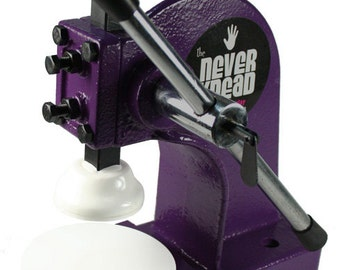FREE SHIPPING! Cindy Lietz Purple (PCT) NEVERknead Polymer Clay Conditioning Machine Tool - Kneads Sculpey Premo Fimo Kato Cernit - Pavelka