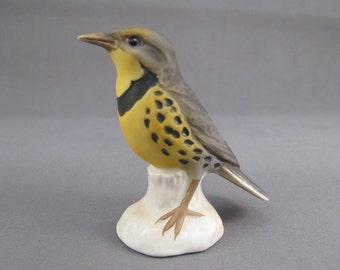 Vintage Goebel Meadowlark Figurine, Signed