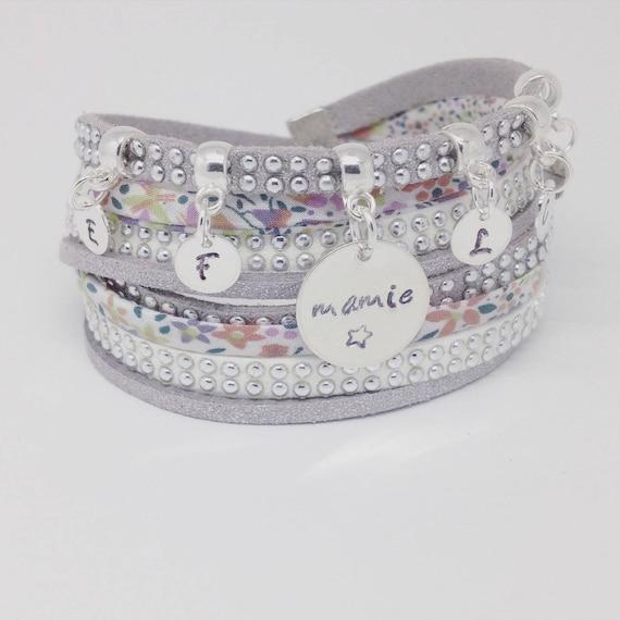 CUSTOM ENGRAVINGS by Palilo jewelry bracelet. Reserved order
