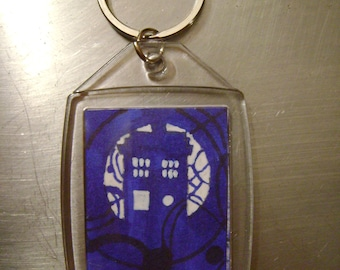 Doctor Who keychain