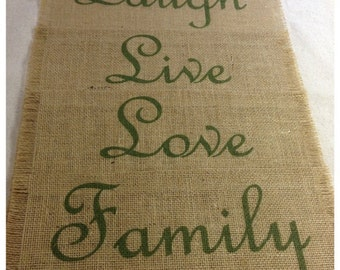 "Burlap Placemats 14"" x 18"" - set of 4 or 6 or 8 - Holiday decorating Home decor"
