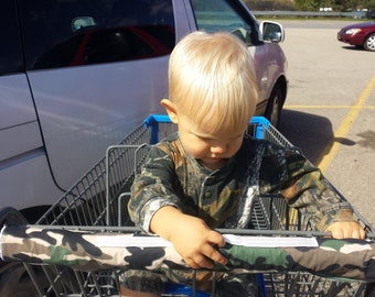shopping cart handle cover - shopping cart cover - grocery cart cover - baby shopping cart cover - camo cart cover - baby shower gift