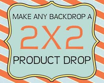 Product Backdrop 2ft x 2ft, Vinyl Photography Product Backdrop, Customize your product vinyl backdrop 2x2