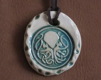 Handmade Cthulhu pendant - Lovecraft / Cthulhu Inspired