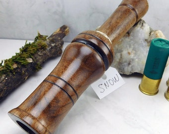 Snow goose Call in English Walnut   #275A