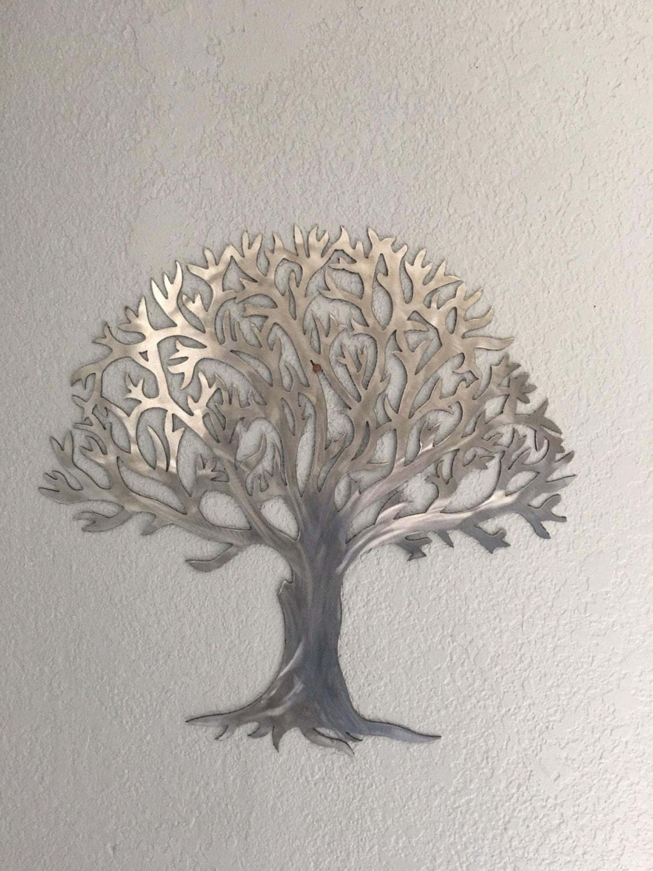 Metal Tree Wall Decor Metal Treestainless Steel Tree Wall Art Wall Decor