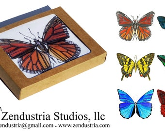 Butterfly Robotic Insect Card Boxed Set