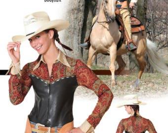 Jalie 2677 - Horsemanship Bodysuit / 22 Sizes / Child & Adult