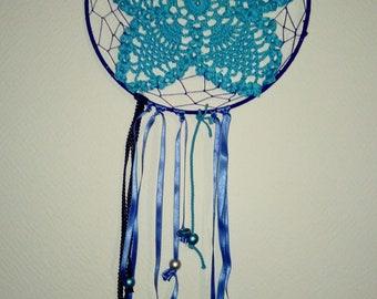 dream catcher, dreamcatcher turquoise Butterfly crochet