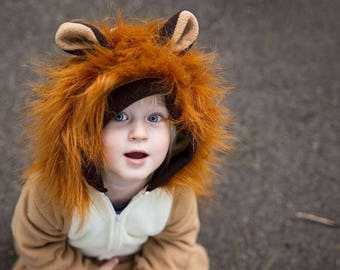 Lion Costume, lion suit, dress up, christmas gift
