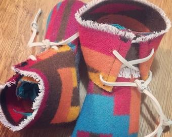 Pendleton Wool Baby Moccasin