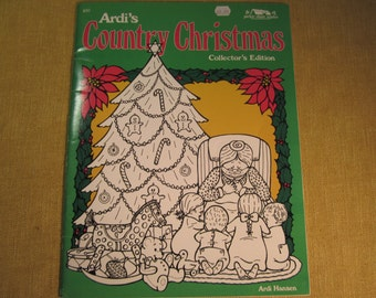 Ardi's Country Christmas Collector's Edition, dozens of Christmas patterns for ornaments and Holiday projects, Santas,angels,children crafts