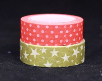 Dots and Stars Washi Tape Set