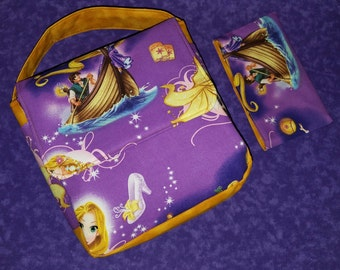 Tangled Lunchbox and Snack Bag