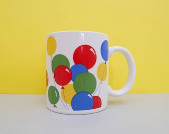 Balloons! Coffe mug, made in Japan