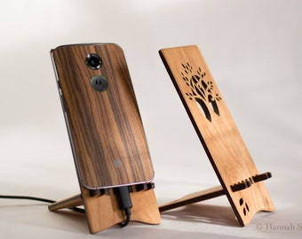 Tree Docking Stand for Android Cell Phone