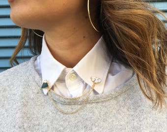 Pin's mountain and cloud / Malicieuse accessories
