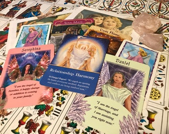 Psychic angel reading- mixed decks