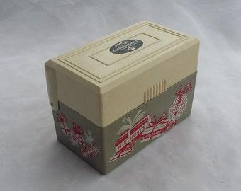 Vintage Kitchen Storage Box Container