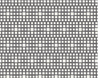 Carbon Gray Squares From Art Gallery's Squared Elements - Choose Your Cut