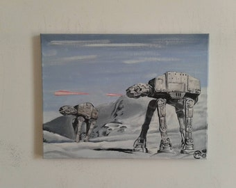 "Walkers. 12"" x 16"" on canvas. Acrylic"