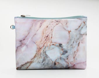 Marble Cosmetic Bag Makeup bag Zipper pouch Accessory bag Travel bag Pencil Case Toiletry bag Cosmetic Case