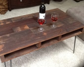 Pallet style double decker coffee table - NEW ITEM