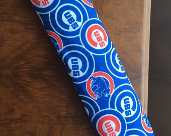 "US FREE SHIPPING!!Chicago Cubs  21"" x 4 1/2"" Buddy Heat Cold Bag Washable Removable Cover and Oil Scent Pouch"