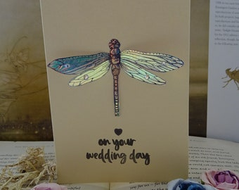 On Your Wedding Day ~ Special Shimmer Card