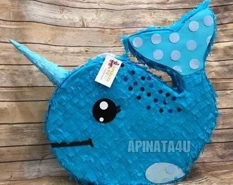 New Item! Narwhal Pinata Whale Pinata
