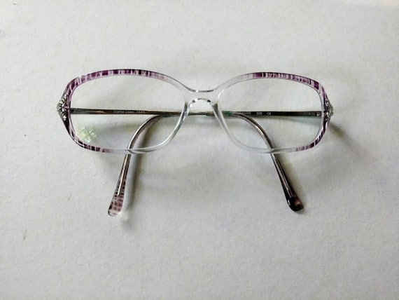 Vintage Eyeglasses Sophia Loren 1543 Prescription Frames