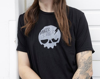 SKULLY Black T-shirt