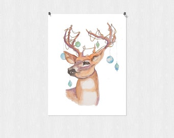 Oh Deer! Print