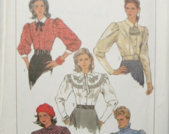 Simplicity 8240 Misses Blouse Sewing Pattern New/Uncut Size 6,8,10